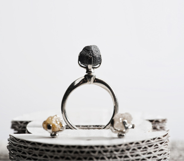 r¿ng rough diamond rings by sruli recht 3 R¿ng Rough Diamond Rings by Sruli Recht