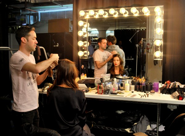 Gilt Model Hair Stylist Behind the Scenes at Gilt: The Hottest Name in High Fashion