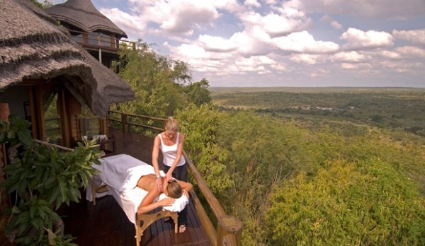 Ulusaba Rock Lodge Aroma Boma Spa © Virgin Limited Edition 5 Ulusaba Private Game Reserve in South Africa
