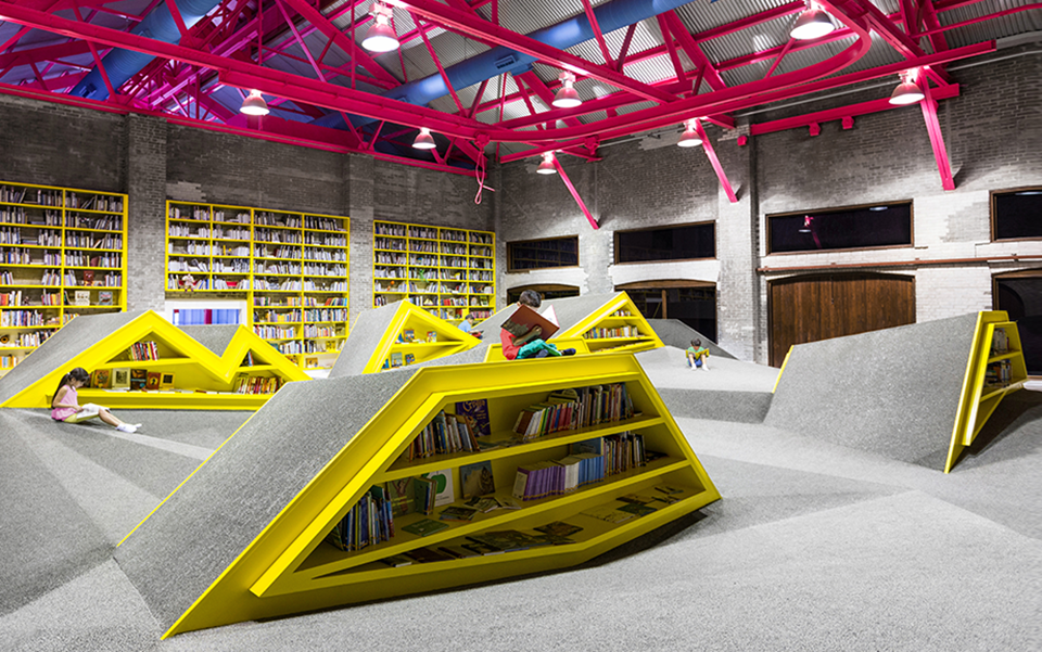 Conarte Children's Library and Cultural Center by Anagrama 2