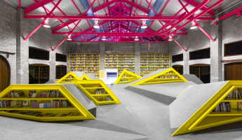 Conarte Children's Library by Anagrama