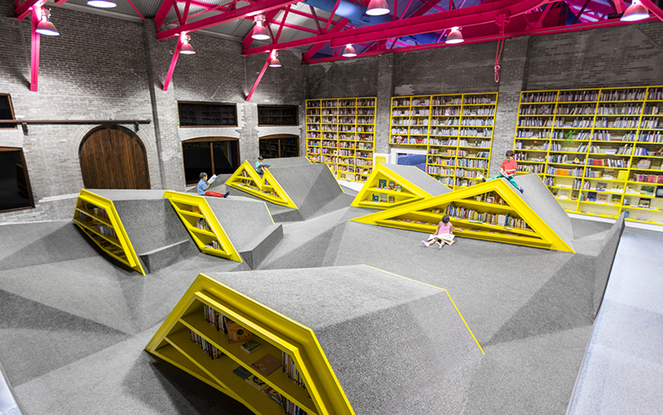 Conarte Children's Library and Cultural Center by Anagrama 8