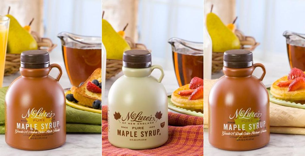 Dutch Gold McLure's maple syrup