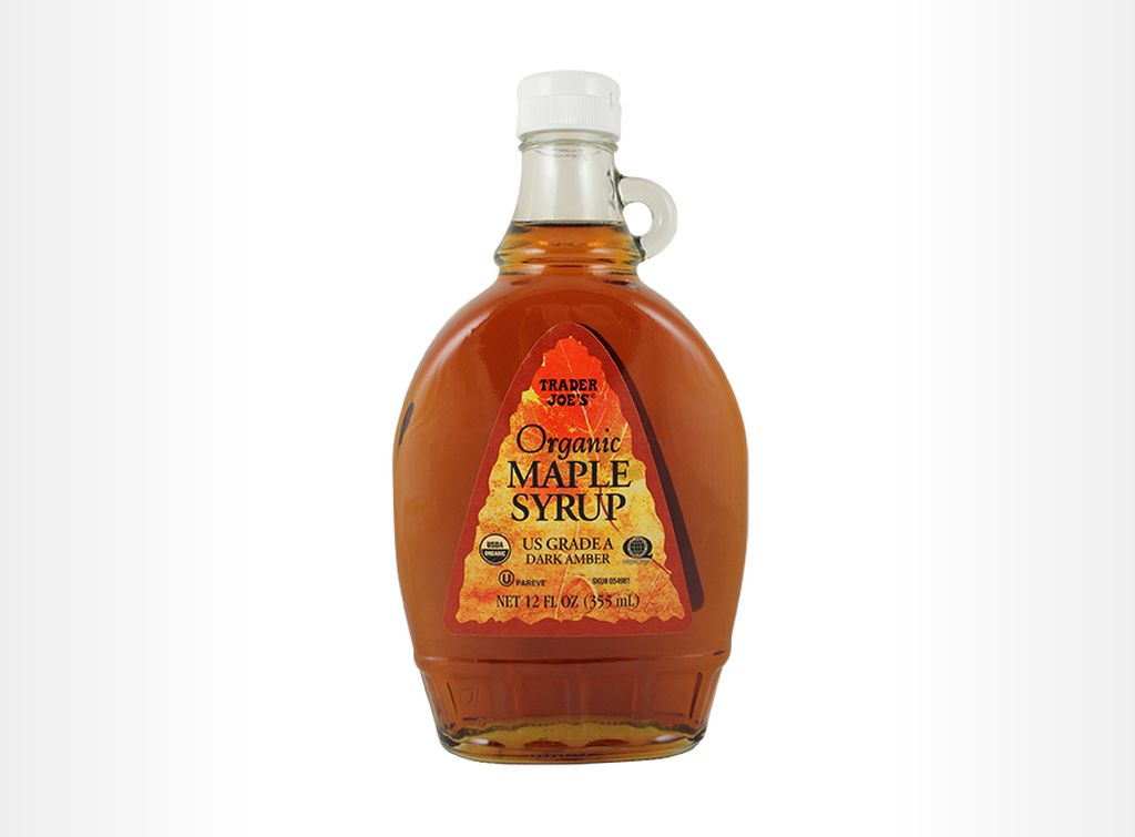Trader Joe's - Organic maple syrup (dark amber)