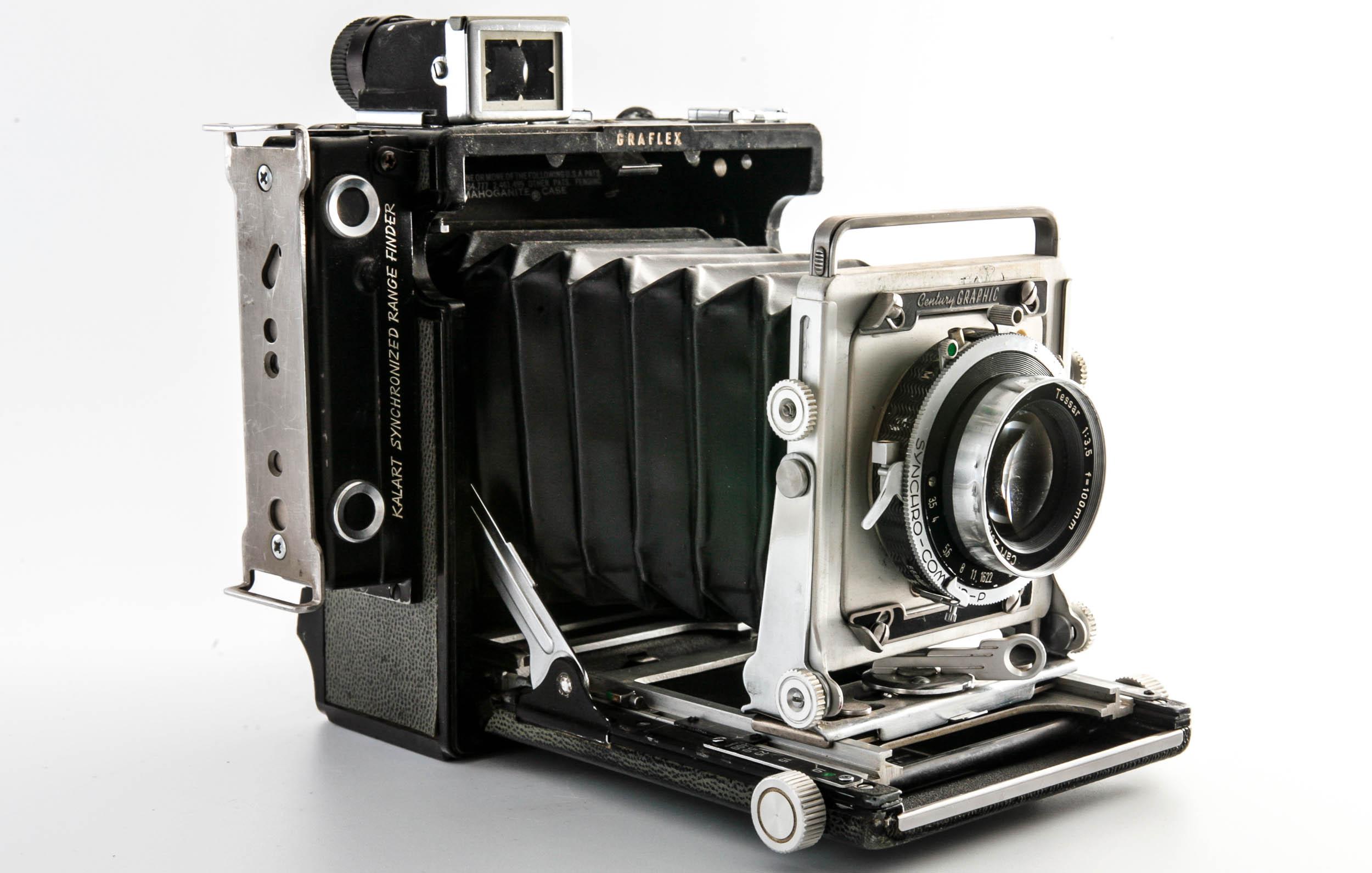 Graflex Century Graphic 2×3 – vintage camera