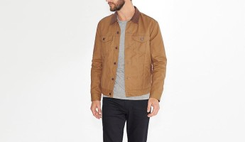 Levi's Waxed Canvas Trucker Jacket paper bag color 345x200 Spring Shower Survival: The 15 Coolest Waxed Canvas Jackets