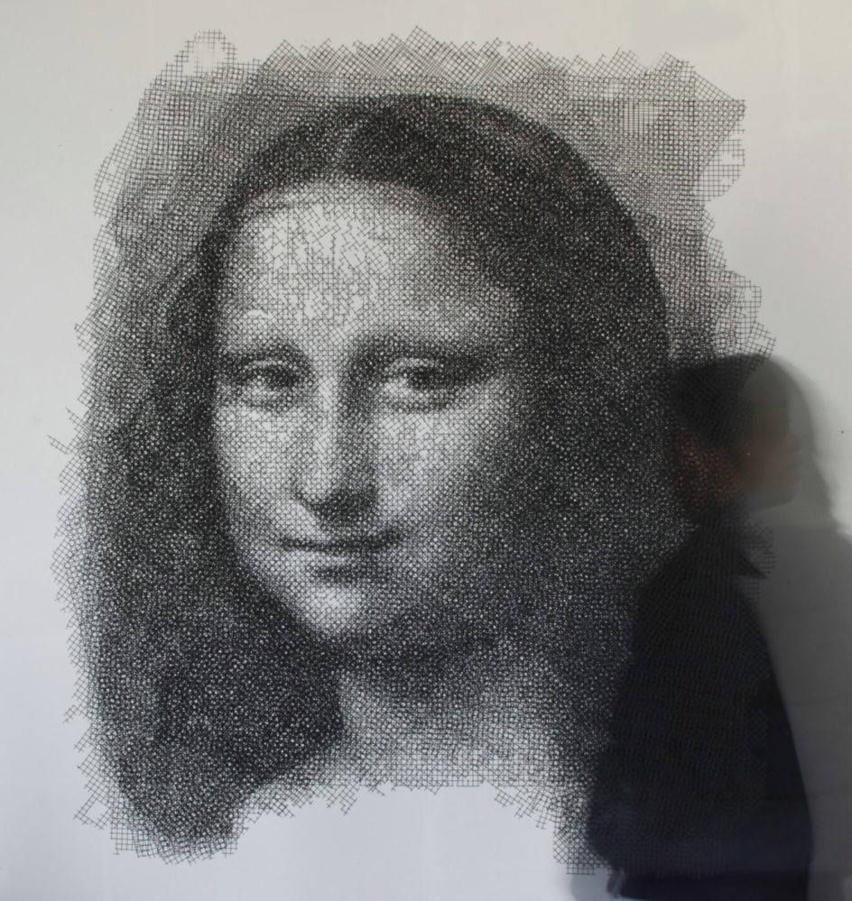 'Mona Lisa' by Seung Mo Park wire sculpture 944x999 15 Beautiful Wire Sculptures That Redefine the Art of Twisting