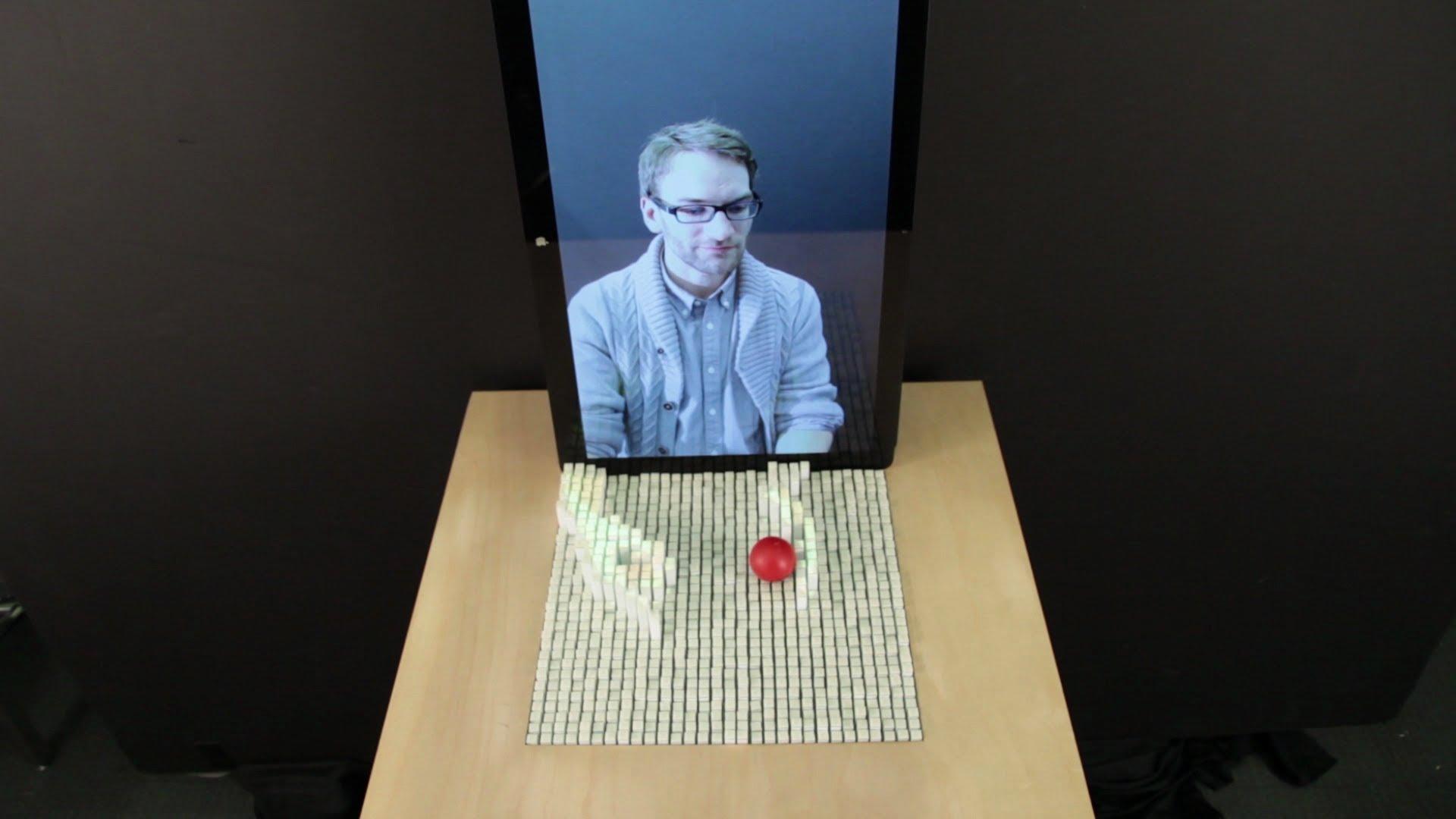 MIT's inForm – technology