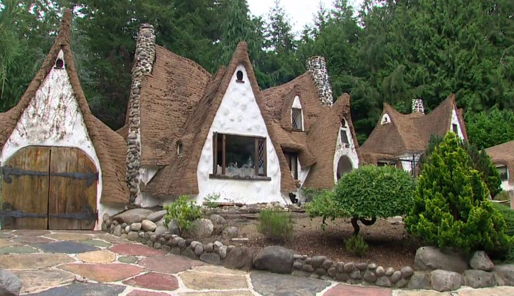 Snow White's Cottage – house inspired by movie