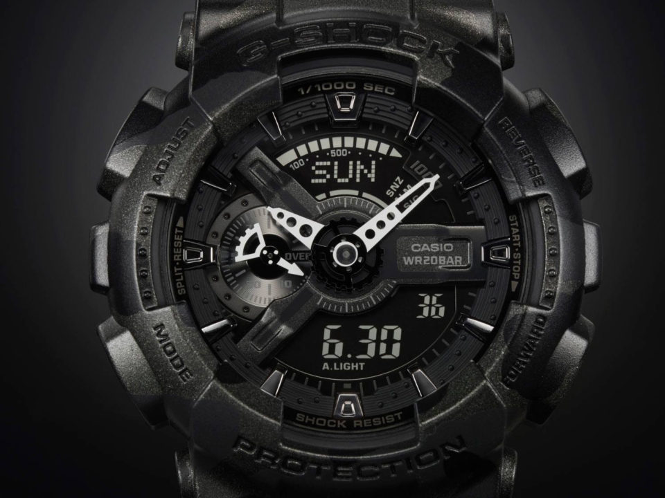 G‑Shock GA100 1A1 Big Combi tactical watch 960x720 19 Tremendous Tactical Watches for Military Precision