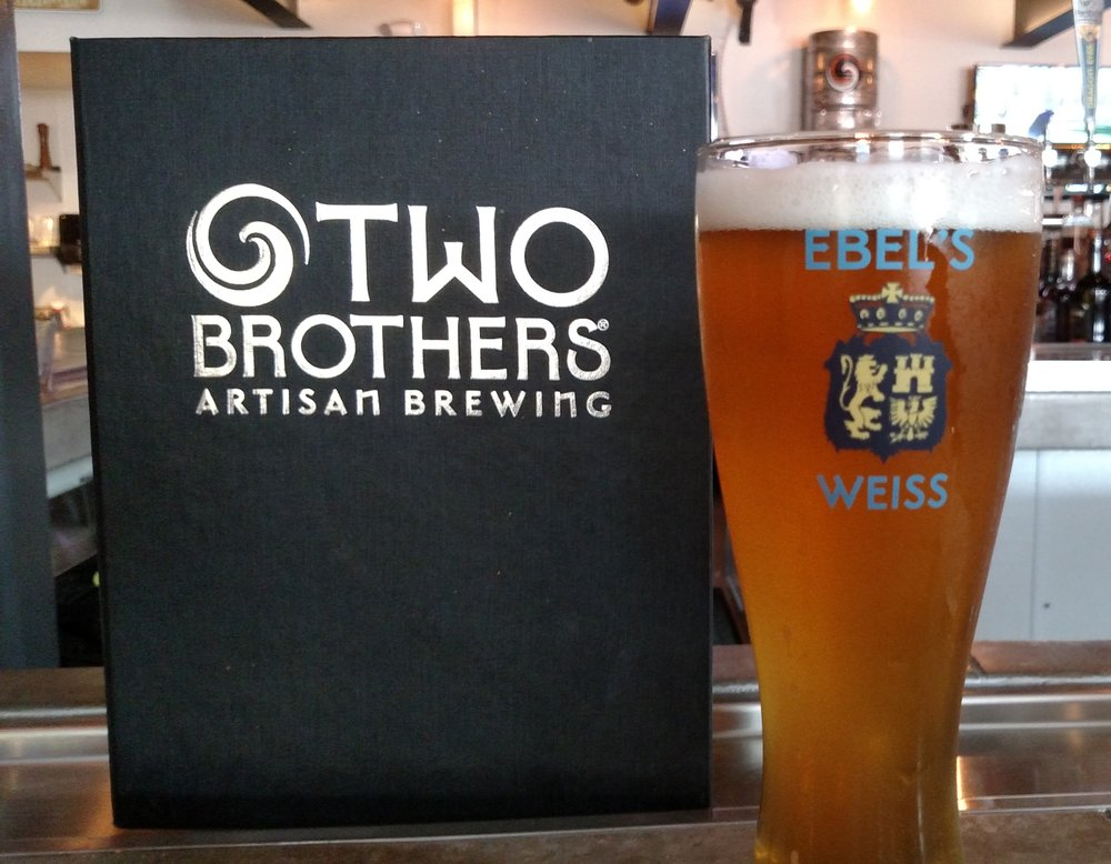 Two Brothers Ebel's Weiss Wheat Beer