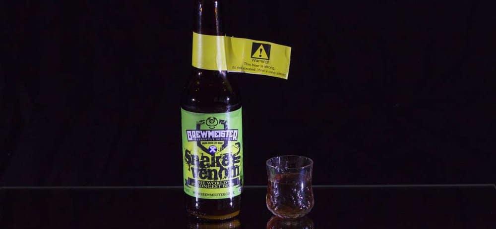Brewmeister's Snake Venom – strongest beer