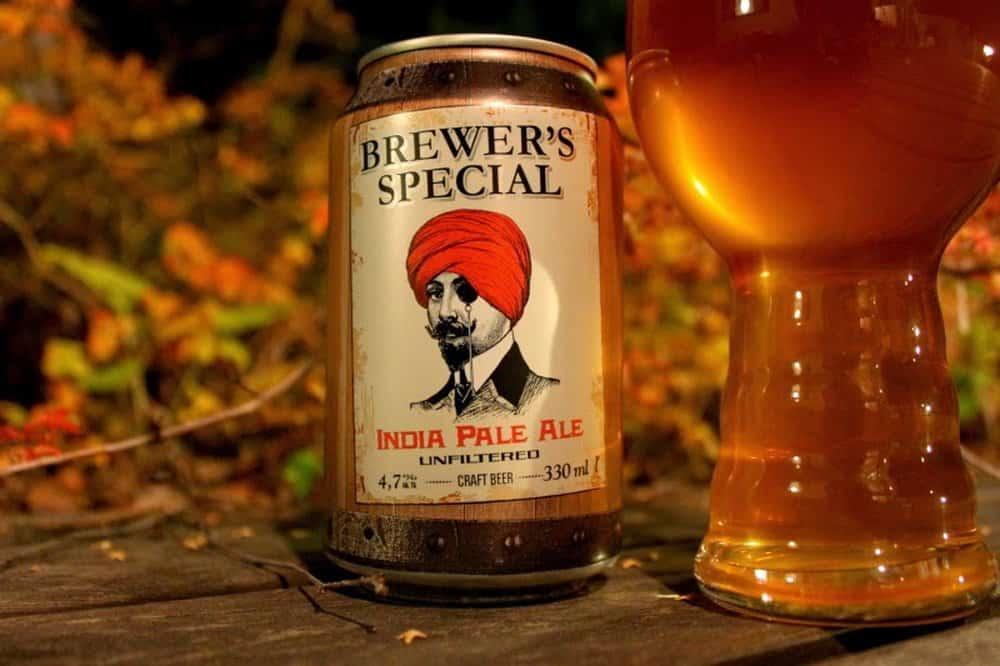 Saimaan Juomatehdas Brewer's Special India Pale Ale – strongest beer
