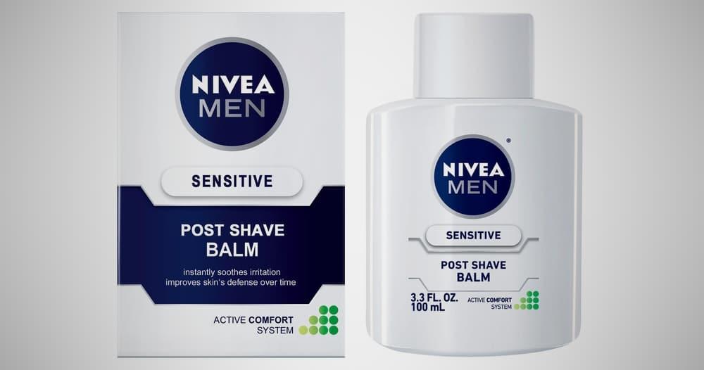 Nivea's Sensitive Post Shave Balm – aftershave for men
