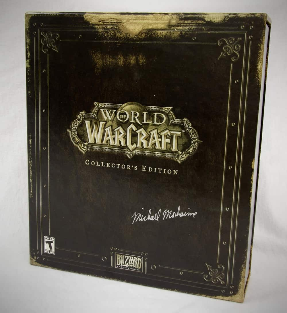 World of Warcraft: Collector's Edition – valuable video game