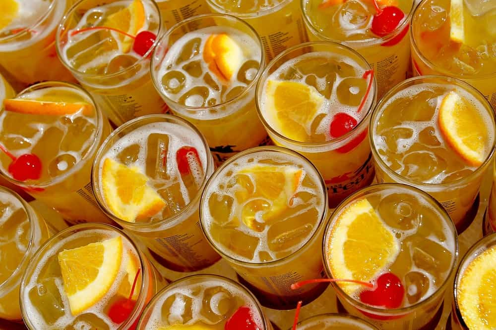 Citrus–Irish Whiskey Punch Drink