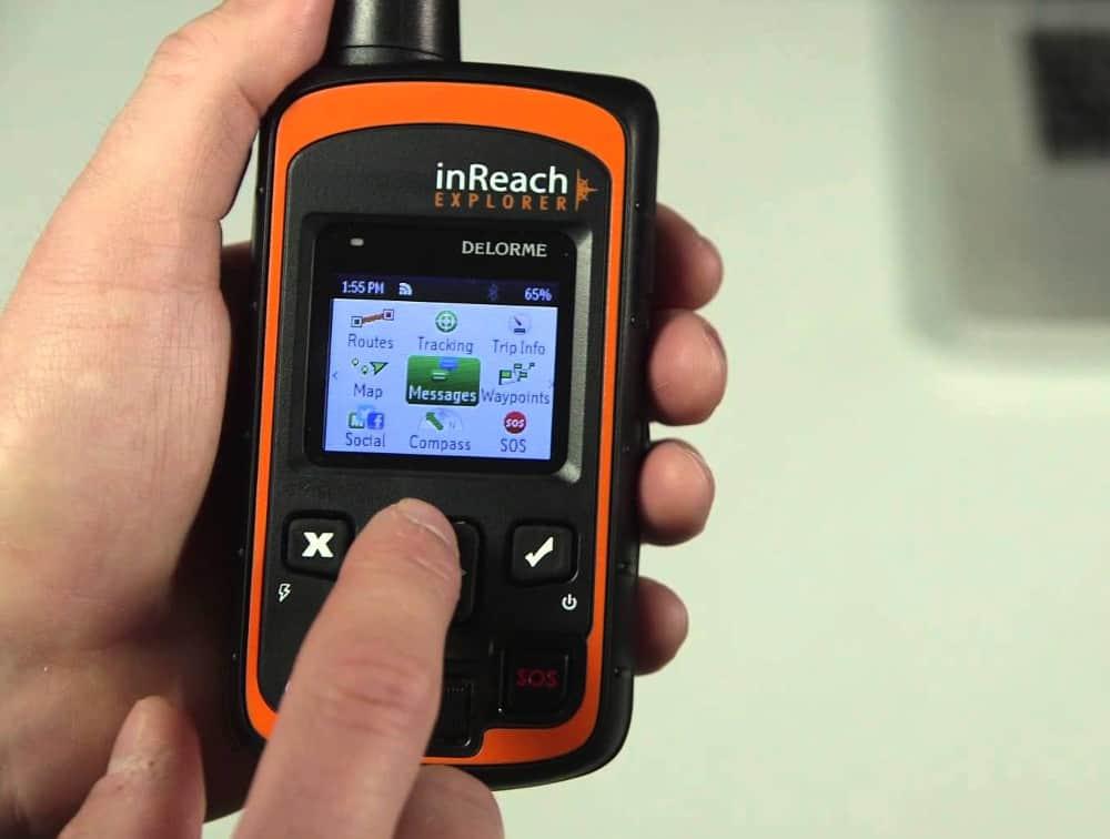 DeLorme's InReach Explorer – handheld gps