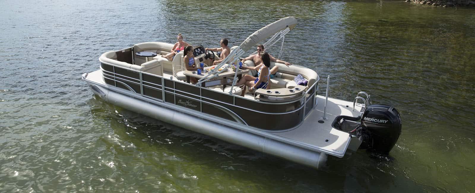 SunChaser Eclipse 8523 LR DH – pontoon boat