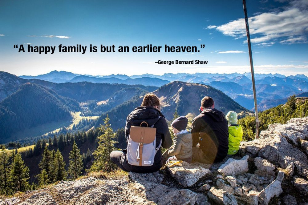 Family Quote by George Bernard Shaw