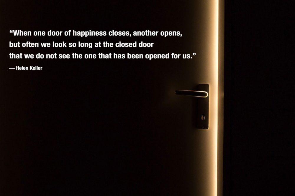 Positive Life Quote by Hellen Keller